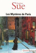 Couverture du livre « Les mystères de Paris » de Eugene Sue aux éditions Gallimard