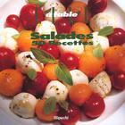Couverture du livre « Elle A Table ; Salades ; 50 Recettes » de Nathalie Le Foll aux éditions Filipacchi