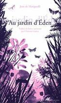 Couverture du livre « Au jardin d'Eden » de Jean De Marignolli aux éditions Anacharsis
