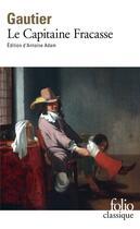 Couverture du livre « Le capitaine fracasse » de Theophile Gautier aux éditions Gallimard