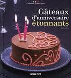 Couverture du livre « Gâteaux d'anniversaire étonnants » de Sylvie Ait-Ali aux éditions Editions Esi