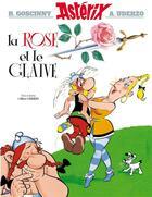 Couverture du livre « Astérix T.29 ; la rose et le glaive » de Rene Goscinny et Albert Uderzo aux éditions Albert Rene