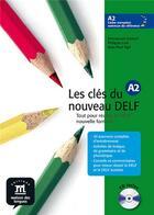 Couverture du livre « Clés du nouveau delf a2 ; livre de l'élève » de Liria - Sige aux éditions La Maison Des Langues