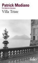 Couverture du livre « Villa triste » de Patrick Modiano aux éditions Gallimard