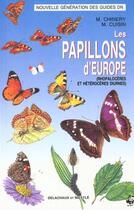 Couverture du livre « Papillons D'Europe » de Chinery/Cuisin aux éditions Delachaux & Niestle