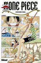 Couverture du livre « One piece t.9 ; larmes » de Eiichiro Oda aux éditions Glenat