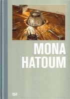 Couverture du livre « Mona Hatoum /Anglais/Allemand » de Ingvild Goetz aux éditions Hatje Cantz