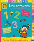 Couverture du livre « Les nombres » de Madeleine Deny aux éditions Nathan