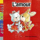Couverture du livre « L'amour » de Didierjean Marie-Anne aux éditions Lep