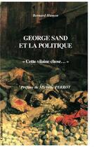 Couverture du livre « George Sand (Hamon) Et La Politique.