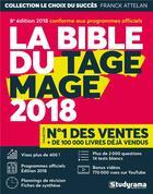 Couverture du livre « La bible du TAGE MAGE (édition 2018) » de Franck Attelan aux éditions Studyrama
