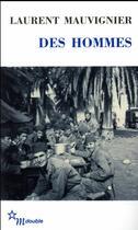 Couverture du livre « Des hommes » de Laurent Mauvignier aux éditions Minuit