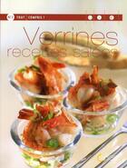 Couverture du livre « Verrines, recettes salées » de Blandine Averill aux éditions Saep