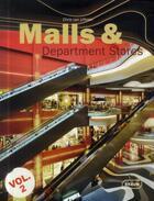 Couverture du livre « Malls and department stores t.2 » de Chris Van Uffelen aux éditions Braun