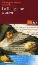 Couverture du livre « La religieuse, de Diderot » de Christophe Martin aux éditions Gallimard