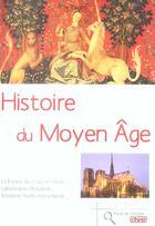 Couverture du livre « Histoire du moyen age » de Pouget aux éditions De Vecchi