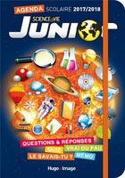 Couverture du livre « Annee Scolaire Science & Vie Junior 2017-2018 » de Collectif aux éditions Hugo