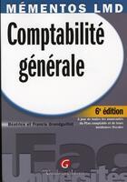 Couverture du livre « Comptabilité générale (6e édition) » de Grandguillot/Grandgu aux éditions Gualino