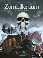 Couverture du livre « Zombillénium T.2 ; ressources humaines » de Arthur De Pins aux éditions Dupuis