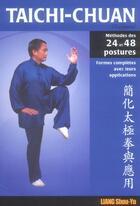 Couverture du livre « Taichi-chuan simplifie : 24 et 48 postures » de Shou-Yu Liang aux éditions Budo