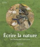 Couverture du livre « Écrire la nature » de Daniel Bergez aux éditions Citadelles & Mazenod
