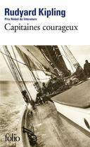 Couverture du livre « Capitaines courageux » de Rudyard Kipling aux éditions Gallimard