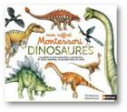 Couverture du livre « Mon coffret Montessori des dinosaures » de Eve Herrmann aux éditions Nathan