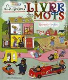 Couverture du livre « Le grand livre de mots ; français/anglais » de Richard Scarry aux éditions Albin Michel