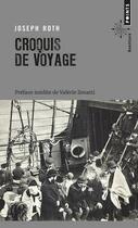 Couverture du livre « Croquis de voyage » de Joseph Roth aux éditions Points