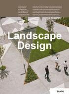 Couverture du livre « Landscape design » de Gingko aux éditions Gingko Press