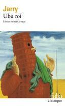 Couverture du livre « Ubu roi » de Alfred Jarry aux éditions Gallimard