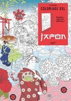Couverture du livre « Coloriage xxl ; Japon » de Julie Terrazzoni aux éditions Hachette Pratique