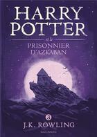 Couverture du livre « Harry Potter T.3 ; Harry Potter et le prisonnier d'Azkaban » de J. K. Rowling aux éditions Gallimard-jeunesse