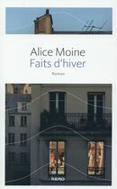 Couverture du livre « Faits d'hiver » de Alice Moine aux éditions Kero