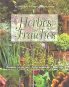 Couverture du livre « Les Herbes Fraiches » de Y. Baty-V./P. Barret aux éditions Du May