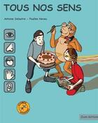 Couverture du livre « Tous nos sens » de Pauline Neveu aux éditions Zoom