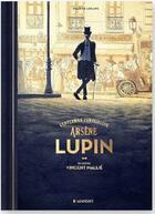 Couverture du livre « Arsène Lupin, gentleman cambrioleur » de Maurice Leblanc et Vincent Mallie aux éditions Margot