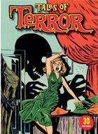 Couverture du livre « 30 postcards tales of terror » de Ilex aux éditions Ilex