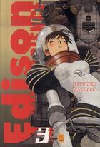 Couverture du livre « Edison fantasy science t.3 » de Tetsuroh Kasahara aux éditions Kami