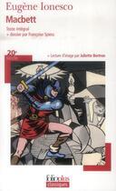 Couverture du livre « Macbett » de Eugene Ionesco aux éditions Gallimard