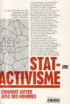 Couverture du livre « Stat-activisme » de Emmanuel Didier aux éditions Zones