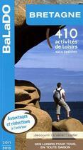 Couverture du livre « Guide Balado ; Bretagne 2011-2012 » de Collectif aux éditions Mondeos