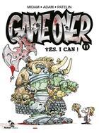 Couverture du livre « Game over T.11 ; yes, I can ! » de Patelin et A'Dam et Midam aux éditions Glenat