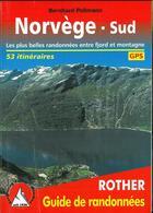 Couverture du livre « Norvege du sud ; 53 itinéraires » de Bernhard Pollmann aux éditions Rother