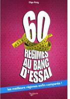 Couverture du livre « 60 régimes au ban d'essai » de Roig aux éditions De Vecchi