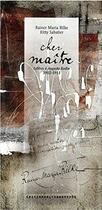 Couverture du livre « Cher maître ; lettres à Auguste Rodin 1902-1913 » de Rainer Maria Rilke aux éditions Alternatives