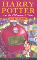 Couverture du livre « HARRY POTTER AND THE PHILOSOPHER'S STONE BK. 1 » de J. K. Rowling aux éditions Bloomsbury Uk