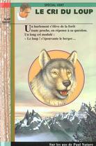 Couverture du livre « Le Cri Du Loup » de Alain Surget aux éditions Epigones