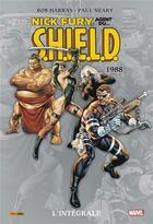 Couverture du livre « Nick Fury ; agent du S.H.I.E.L.D. ; INTEGRALE VOL.4 ; 1988 » de Bob Harras et Paul Neary aux éditions Panini