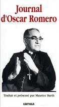 Couverture du livre « Journal d'Oscar Romero » de Escar Romero aux éditions Karthala